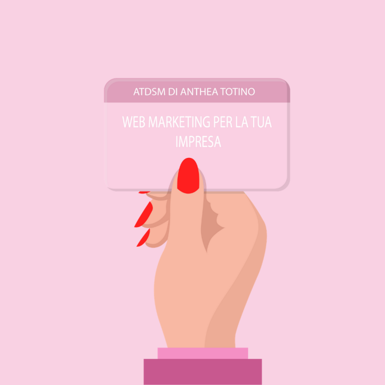 web marketing per la tua impresa - atdsm di anthea totino milano